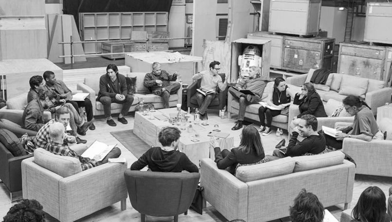 Cast of Star Wars Episode VII