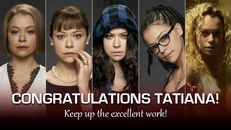 Tatiana Maslany as Rachel, Alison, Sarah, Cosima & Helena — Orphan Black