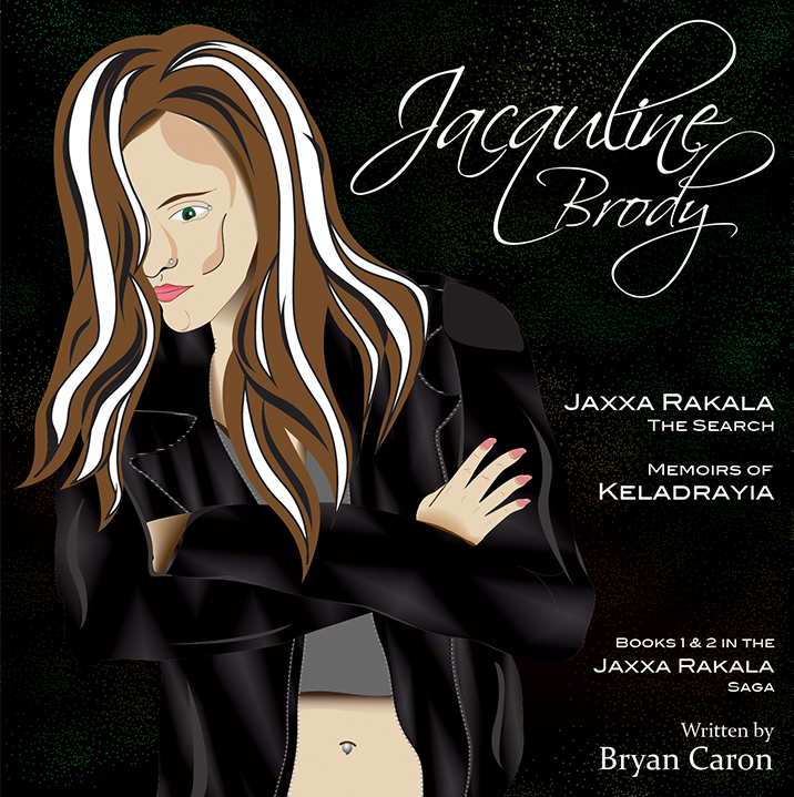 A visualization of Jacquline Brody from Jaxxa Rakala: The Search and Memoirs of Keladrayia.