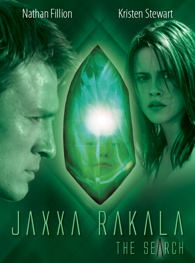 Original movie poster design idea for the fictionalized film adaptation for Jaxxa Rakala: The Search (2007)
