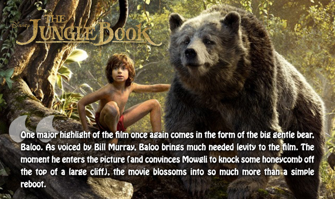 Jungle Book Quotes Enchanting Movie Mayhem  The Jungle Book 2016  Chaos Breeds Chaos