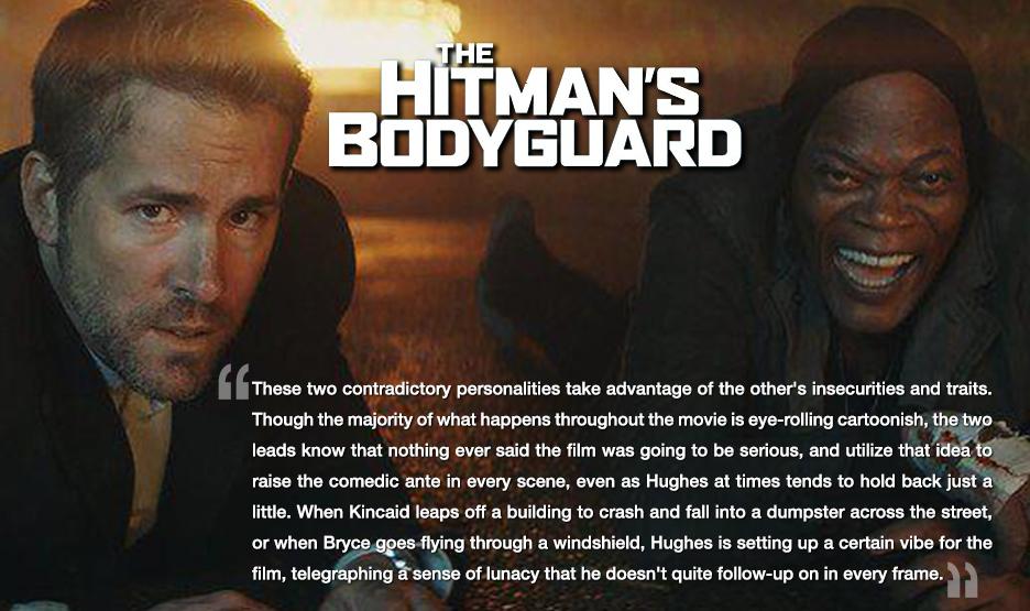 Movie Mayhem The Hitman S Bodyguard Chaos Breeds Chaos