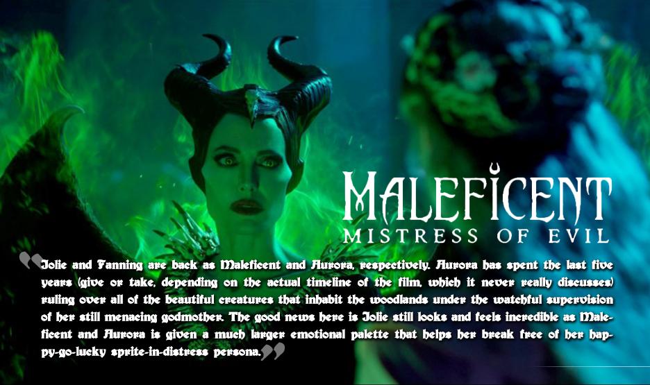 Movie Mayhem Maleficent Mistress Of Evil Chaos Breeds Chaos
